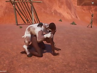 Wild Bounce game furry 3d animation goat human sex ecumenical