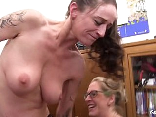 AMATEUR EURO - Changeless Working Secretaries Enjoy oneself 3way Office Bonk (Adrienne Cuddle & Jana L.)