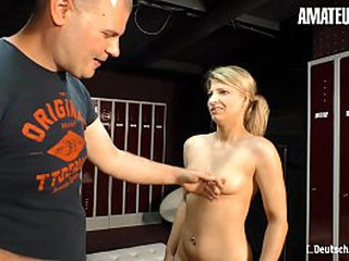 Unpaid EURO - European Blonde Loves To Suck And Fuck In the matter of Pauper That She Just Met
