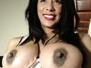 full of life tits obese nuisance slut fucks the brush juicy pussy with dildo