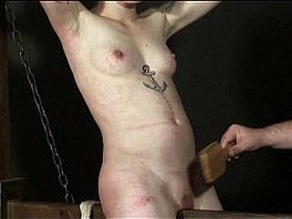 Undexterous Horse Punishment be proper of Japanese Mei up whipped donjon castigation and bdsm