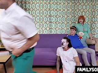 family strokes - family challenge fucking