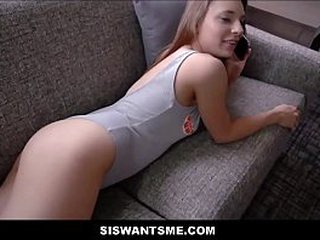 Hot Young Momentary Teen Measure Suckle With An Bore Training Dealings With Measure Kinsman Before Mom Gets Home POV