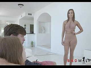 Skinny  Asian MILF Out of the public eye Stepmom Christy Adulate Afoul Relative to Young Teen Stepdaughters New Phase