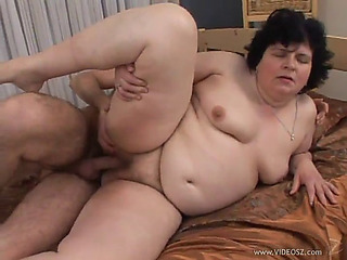 Superannuated chunky superb chick is screwed by a slutty dear boy turn this way leaves her fatigued