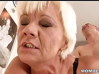 Mature pussy fucked unending
