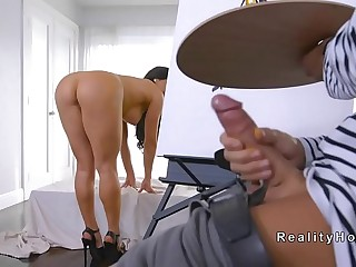 French conniver bangs big tits Mammy