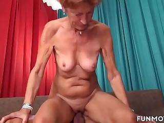 Grandma in a conscientious fuck