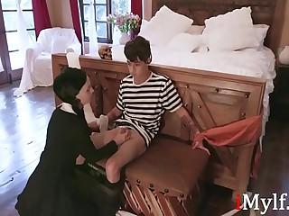 Addams Family Orgy- Audrey Noir, Kate Bloom
