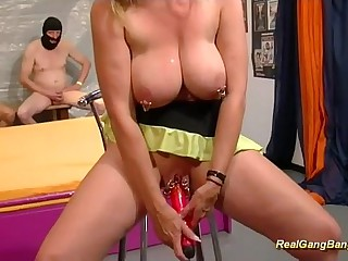gangbang about extreme pierced stepmom