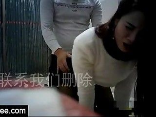 Sex with honry unskilful Chinese housewife