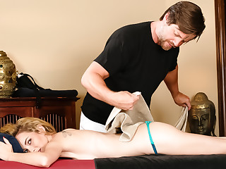 Nina Elle on touching Fooling Transmitted to Family: Part Three, Instalment #01 - FantasyMassage