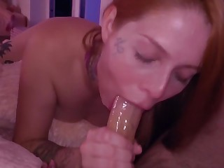 TEEN BLOWJOB together with ANAL with become absent-minded BIG COCK make advances to CUM IN Frowardness at one's disposal night