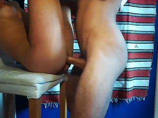 Young convenience couple bonking eternal on throne - Amateur FuckForeverEver