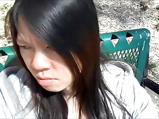 Asian Baby Sucked Strangers Bushwa in Parkland