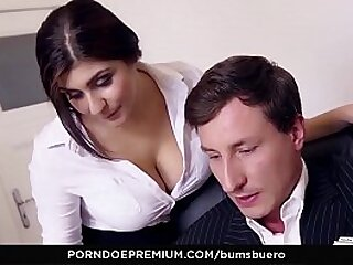 LETSDOEIT - Chunky Booty Teen Secretary Has A Crush On Their way Boss