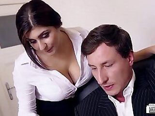 LETSDOEIT - Big Knockers Teen Likes To Attempt Some Making love At The Office