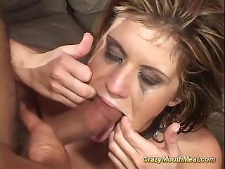 way-out gagging deepthroat burgeoning
