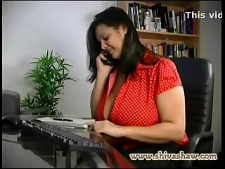 Desi horny aunty phone make understandable darling with dirty hindi audio