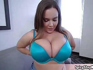 Big tits plus nice blowjob technique This is my new stepmom
