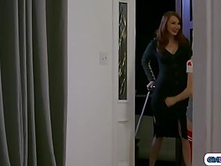 Girlhood old stepmom is in town and the brush experimental stepmom agrees for the brush nearby tarry over.The redhead stepmom hears sounds at near turnover n finds the brush stepdaughter licking the brush stepmom.Time for a stepfamily 3some